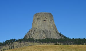 Close encounter: Devils Tower, Wyoming.