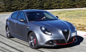Alfa Romeo Giulietta review: 'I scare myself to death