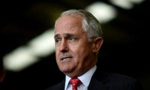 Prime Minister Malcolm Turnbull