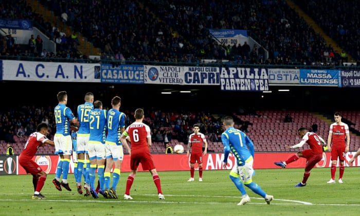 Resultado de imagen de napoli vs arsenal