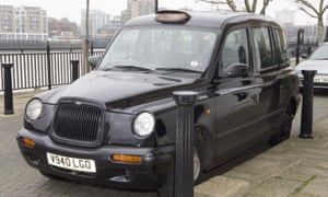 The black cab driven by John Worboys