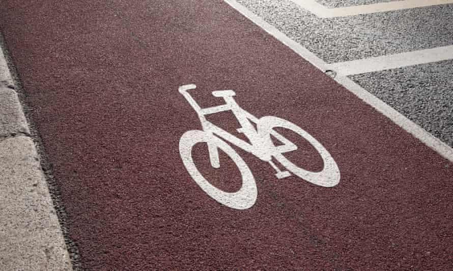 A bike lane