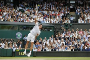 Another big serve from Raonic.