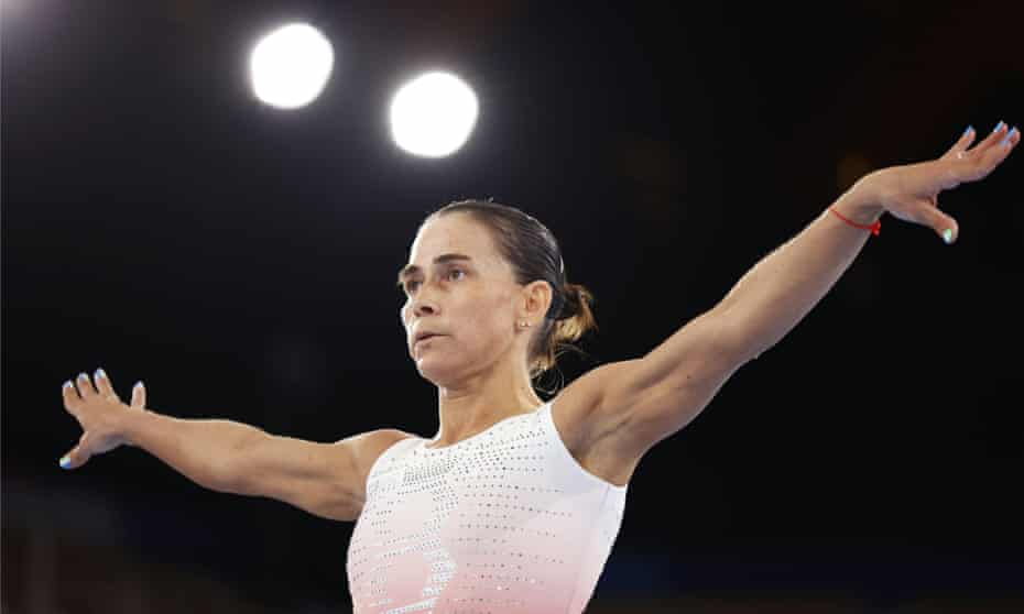 The highly decorated 46-year-old gymnast Oksana Chusovitina has a 22-year-old son – older than many of her competitors at the Tokyo Games.
