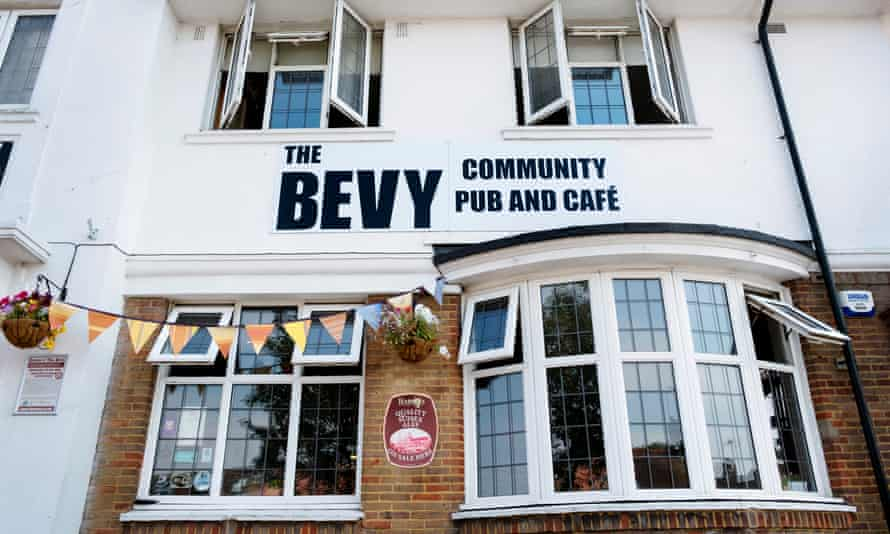 The exterior of the Bevy