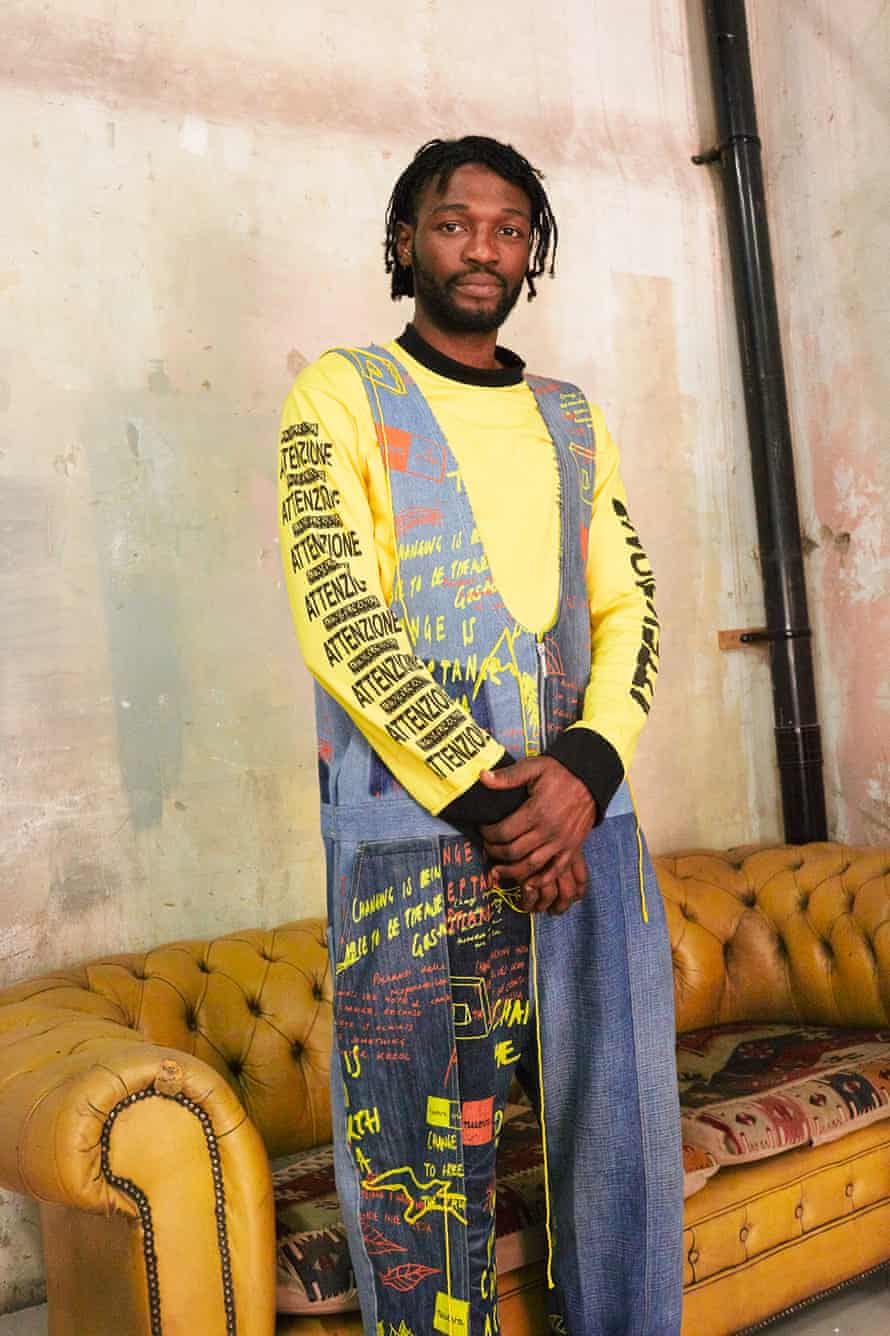Bethany Williams spring/sumemr 2019 collection for London Fashion Week Men's