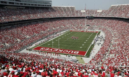 Big Ten teams such as Ohio State play in front of huge crowds, generating millions of dollars in revenue