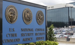 The National Security Agency (NSA) building in Fort Meade, Maryland.