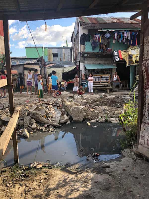 The city of Rizal, about two hours drive from Manila, where a 39-year-old woman was arrested