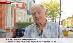 Ken Livingstone speaking on BBC News this afternoon.