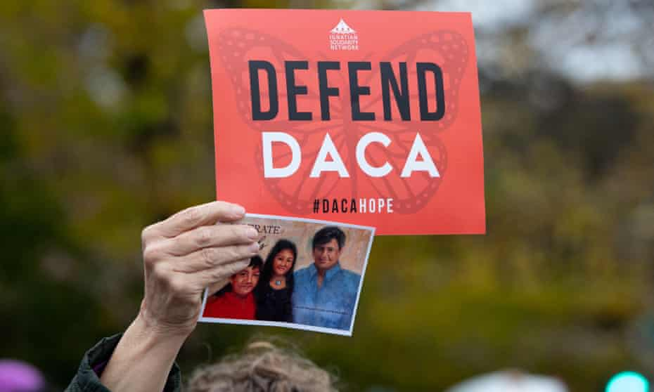 Daca has come under fire from conservatives since its creation in 2012. Texas in 2018 requested to halt the program through a preliminary injunction.