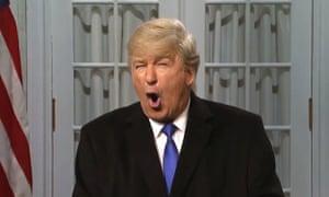 Alec Baldwin as Donald Trump, in a previous cold open.