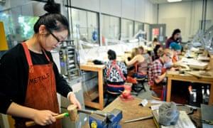 Metalwork facilities, UCA Farnham