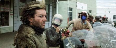 Hugh Keays-Byrne (left) in Mad Max, 1979