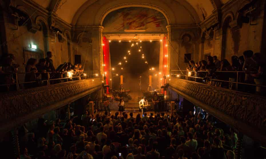 The refurbished Wilton's Music Hall, built in 1859.