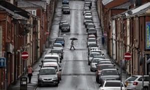 A street in Blackburn.