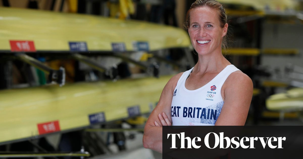 Helen Glover on her Olympic return: 'It's like a lockdown project that's gone too far'