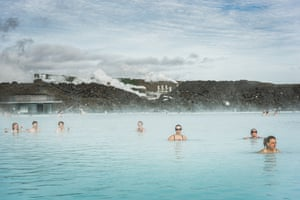 The Blue Lagoon, one of Iceland's most important tourist attractions