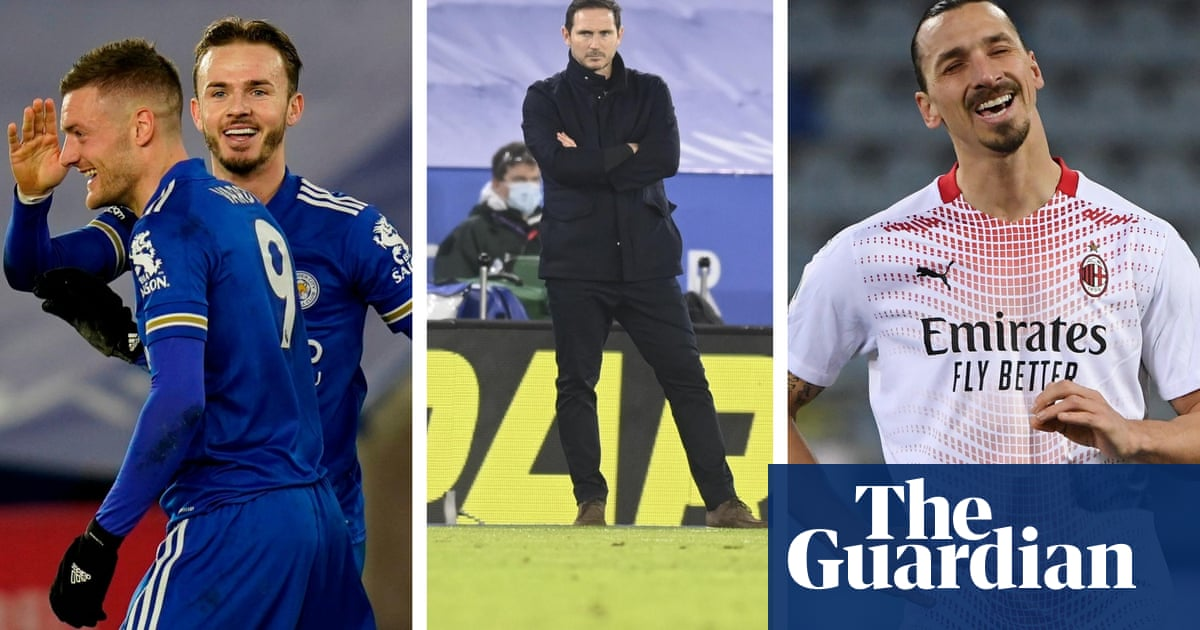 Leicester go top, Lampard feels the heat and Milan march on – Football Weekly