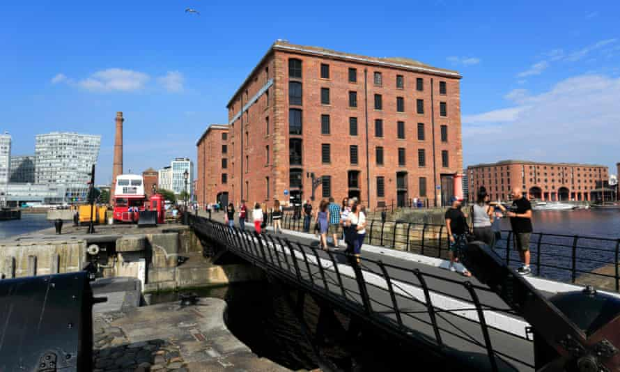 Merseyside police have stepped up patrols at the Royal Albert Dock in Liverpool.