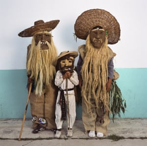 Family in Maguey Masks 2016