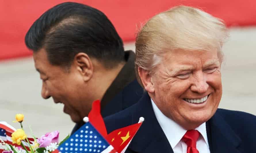 Presidents Xi Jinping and Donald Trump.