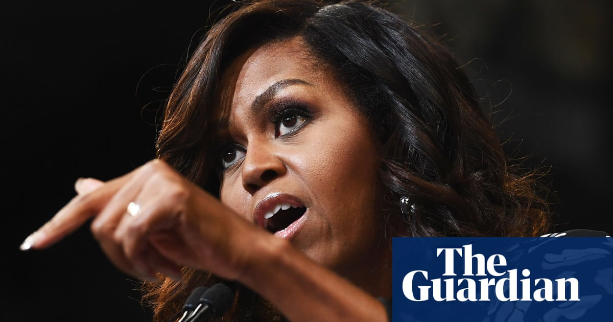 Michelle Obama reveals dread of Trump and how news cycle 'turns her stomach'