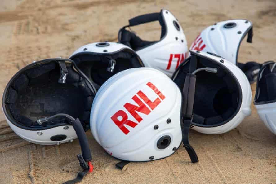 Official RNLI helmets.