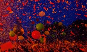 A music festival in Sydney