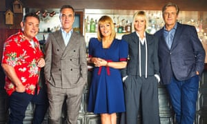 Pete, Adam, Jenny, Karen and David in series eight of Cold Feet.