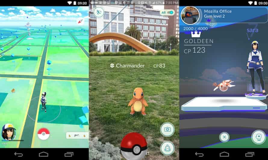 Pokemon Go on Android