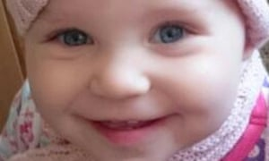 Amelia Cooper, 15 months, died of fentanyl toxicity.