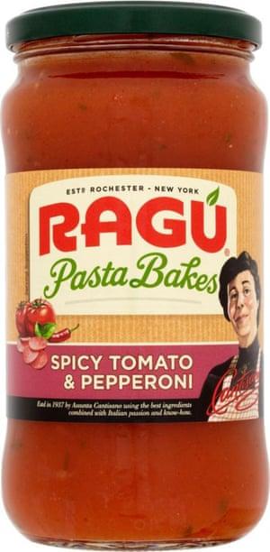 A jar of Ragu