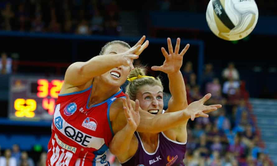 Kimberlee Green in action for the Swifts