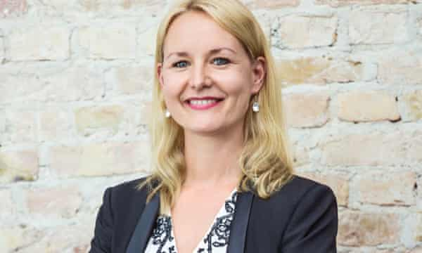 Carolin Gabor, managing director of Finleap