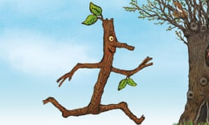 Julia Donaldson and Axel Scheffler's Stick Man - why not read it together before watching the TV version?
