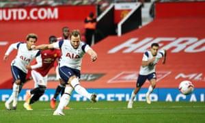 Harry Kane gets Tottenham's sixth goal from the penalty spot