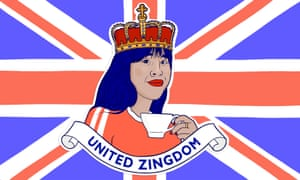 'I'm pretty comfortable claiming my identity as a Londoner – but British?' ... United Zingdom.