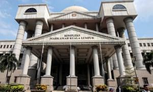 The courts complex in Kuala Lumpur, Malaysia
