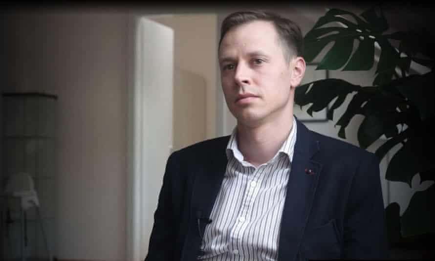 Russian-born Lithuanian refugee Nikita Kulachenkov