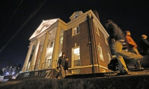 The Phi Kappa Psi house at the University of Virginia was depicted in the debunked Rolling Stone story as the site of a rape.