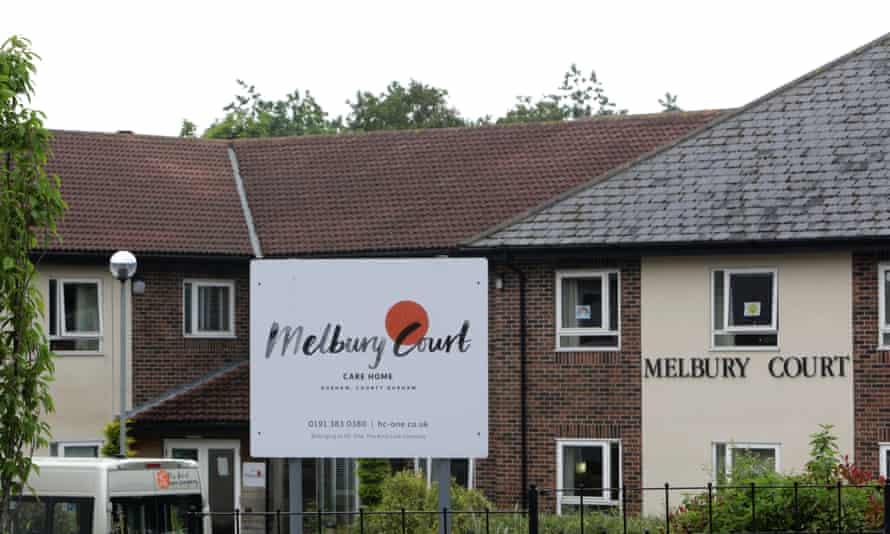Melbury Court care home in Durham