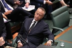 Opposition leader Bill Shorten QT