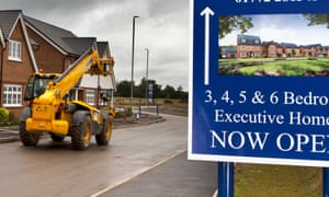 New homes for sale, in Chorley, Lancashire. This year national house price growth fell to 0.7% in July.