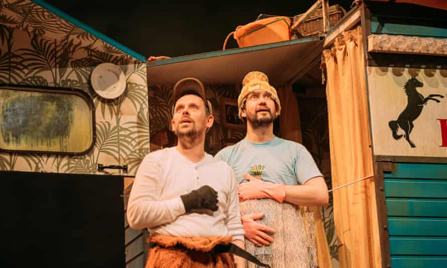 As engaging as it is funny … Andy Cannon and Andy Manley in Black Beauty.