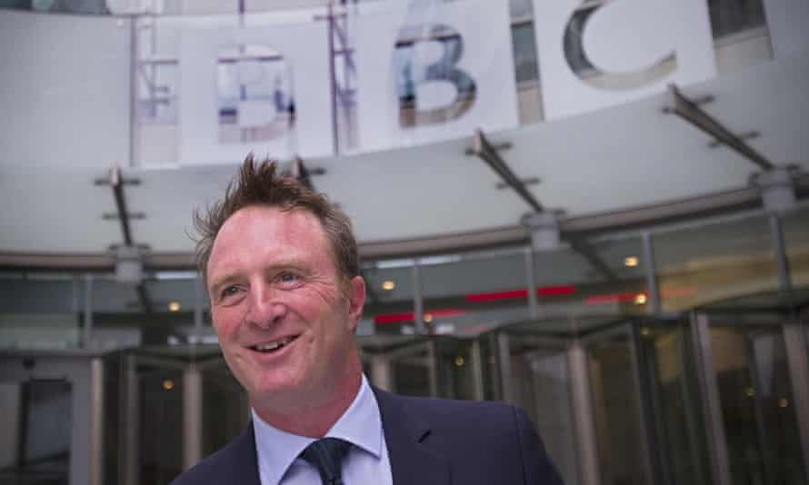 James Harding arrives for his first day at work as the BBC's new director of news and current affairs in central London in August 2013