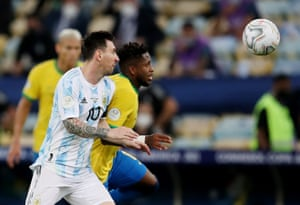 Argentina v Brazil