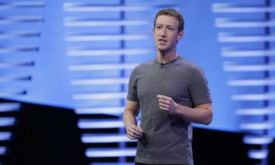 Mark Zuckerberg speaks during the keynote address at the F8 Facebook Developer Conference
