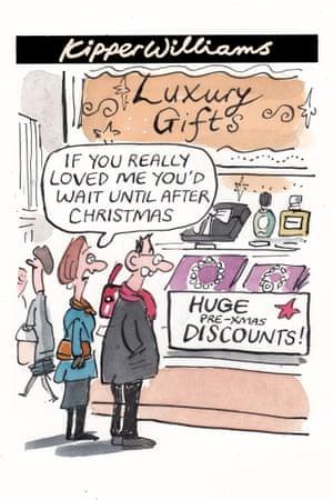 Kipper cartoon on retail discounts
