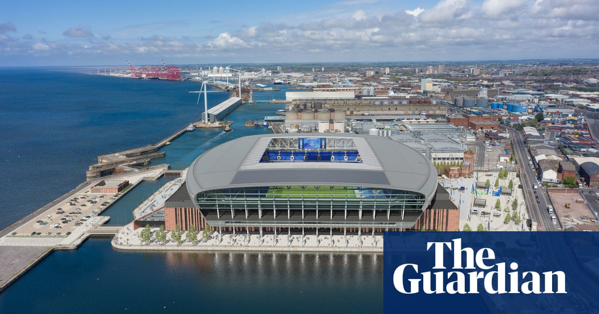 Everton get new stadium go-ahead from Liverpool council